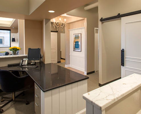 Eaton Family Dental Interior