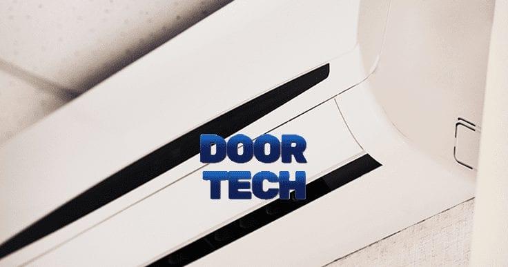 garage door heating and air conditioning