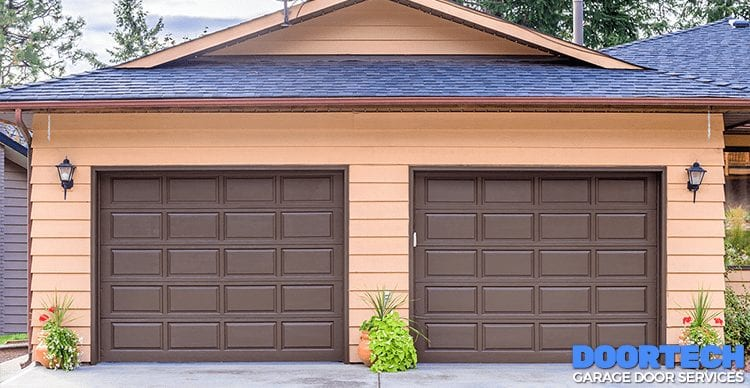 garage door makeover featured