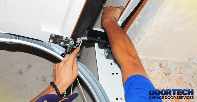 Garage door repair in Bowie, MD