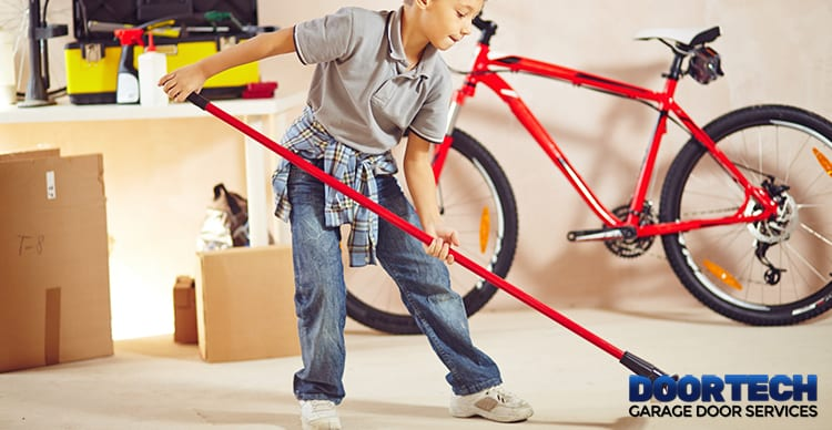 Follow these garage spring cleaning tips and in no time your garage will be organized!