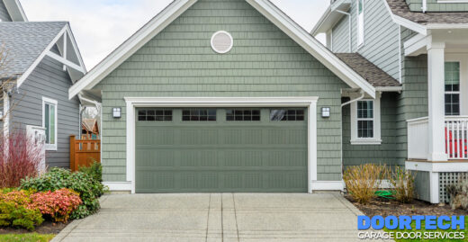 How to Pick a Garage Door Color that Pops and Still Matches Your Siding