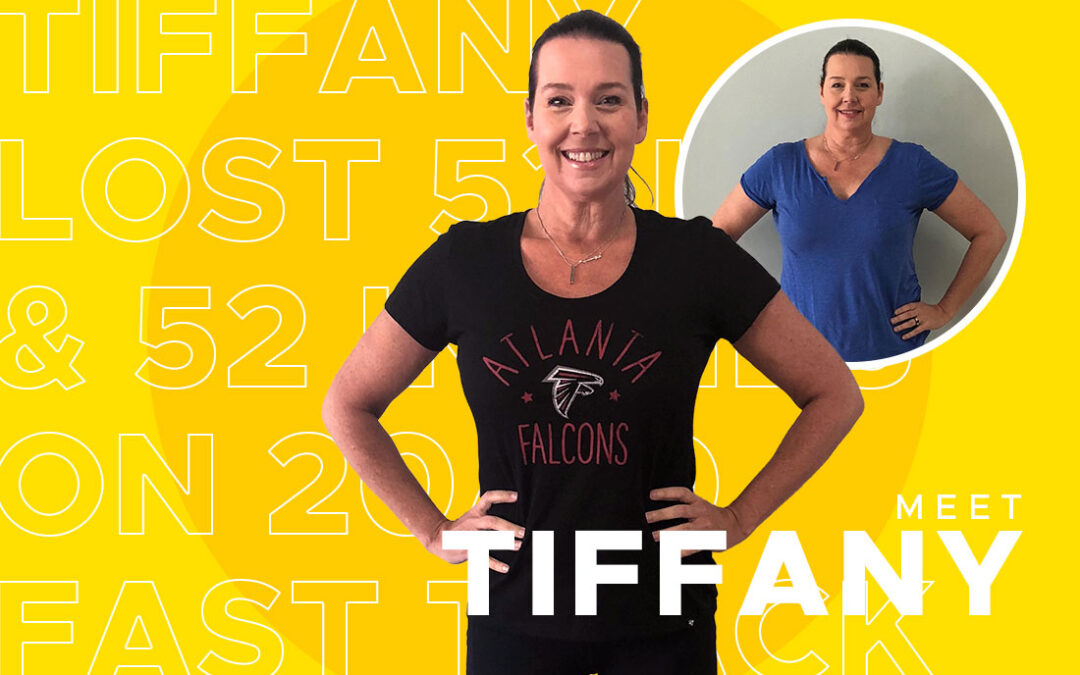 Tiffany Lost 53 Pounds & 52 Inches on 20/30 Fast Track