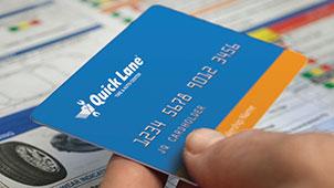 Quick Lane Credit Card