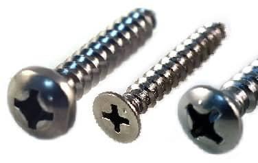 Sheet Metal Screws<br />316 Stainless Steel