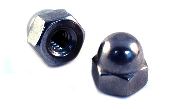 Acorn Cap Nuts<br />18-8 / 304 Stainless Steel