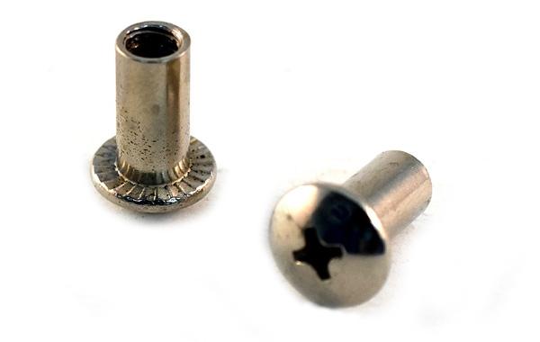 Barrel Nut<br />Nickel Brass