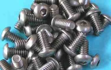 Button Socket<br />Head Cap Screws<br />18-8 / 304 Stainless Steel