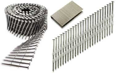 Collated Nails<br />316 Stainless Steel