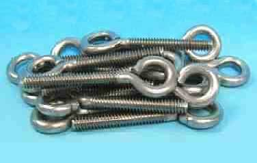 Eye Bolts<br />Stainless Steel