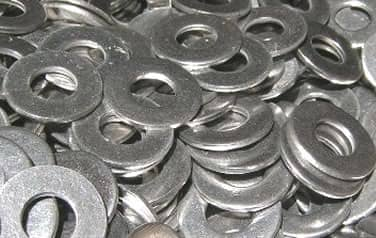 Flat Washers<br />316 Stainless Steel