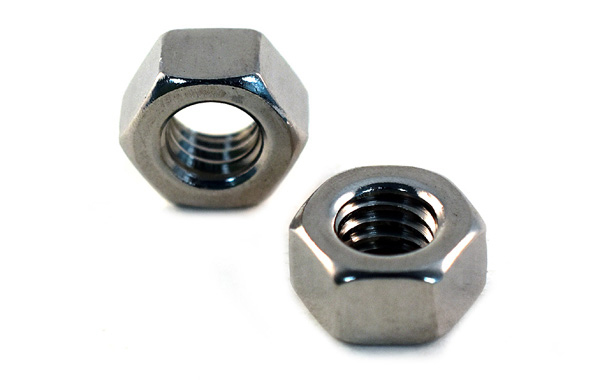 Finish Hexagon Nuts<br />18-8 / 304 Stainless Steel