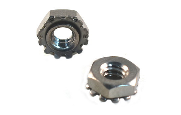 """KEP """"K"""" Nuts<br />18-8 / 304 Stainless Steel"""