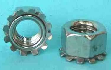 "KEP ""K"" Nuts<br />18-8 / 304 Stainless Steel"