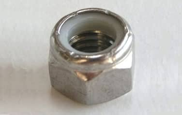 Nylon Insert Lock Nuts<br />18-8 / 304 Stainless Steel