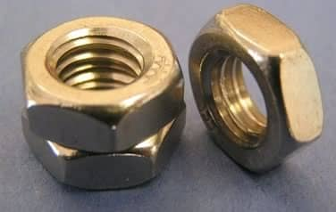 Thin Nuts – All Styles<br />18-8 / 304 Stainless Steel