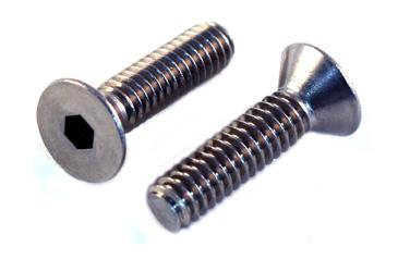 Flat Socket<br />Head Cap Screws<br />18-8 / 304 Stainless Steel