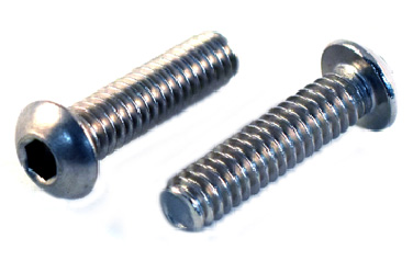 Button Socket<br />Head Cap Screws<br />18-8 / 304 Stainless Steel
