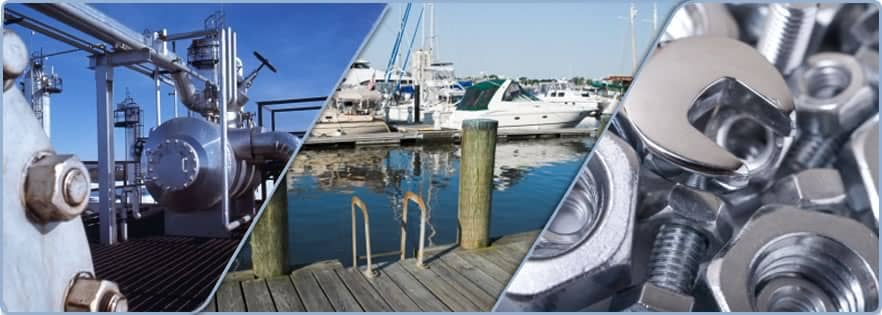 Types of Stainless Steel Marine Fasteners