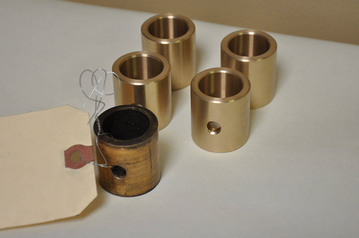 Machined Part From Sample