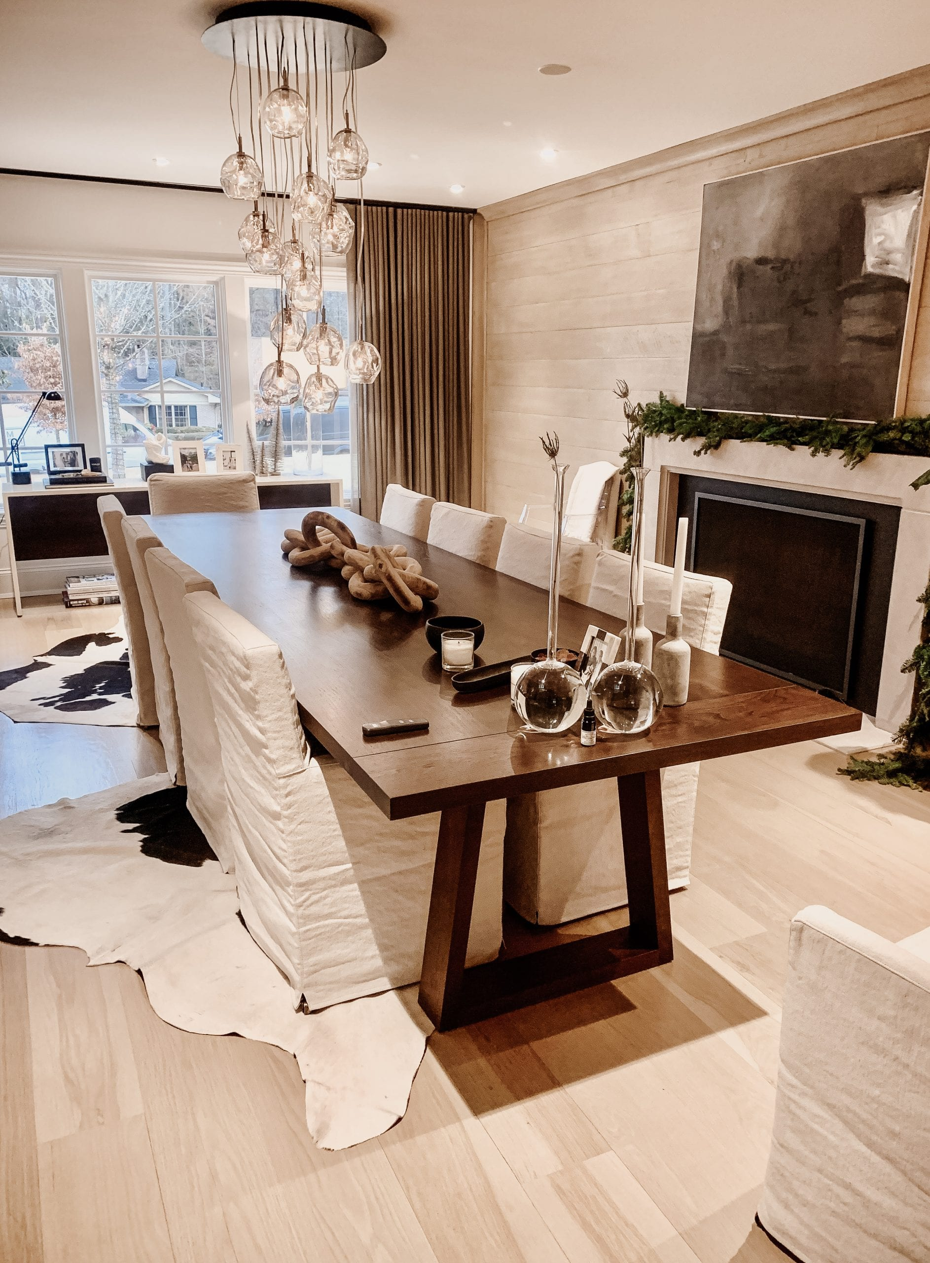 Big Walnut dining table for 10