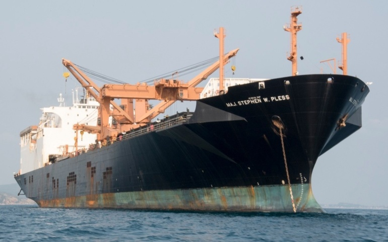 The US Navy will have to pony up and race the clock to avoid a sealift capacity collapse