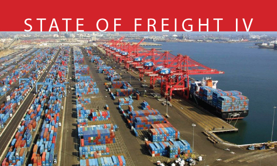 """The American Association of Port Authorities issues its fourth """"State of Freight"""" report"""