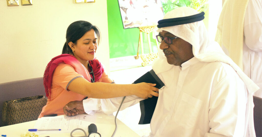 homecare nursing in dubai