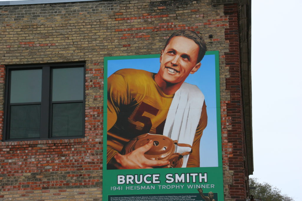 Bruce Smith mural