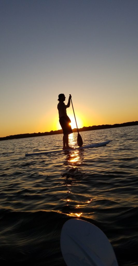 Cannon Lake stand up paddle board
