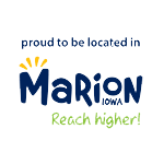 Proudly located in Marion, Iowa -- Reach Higher!
