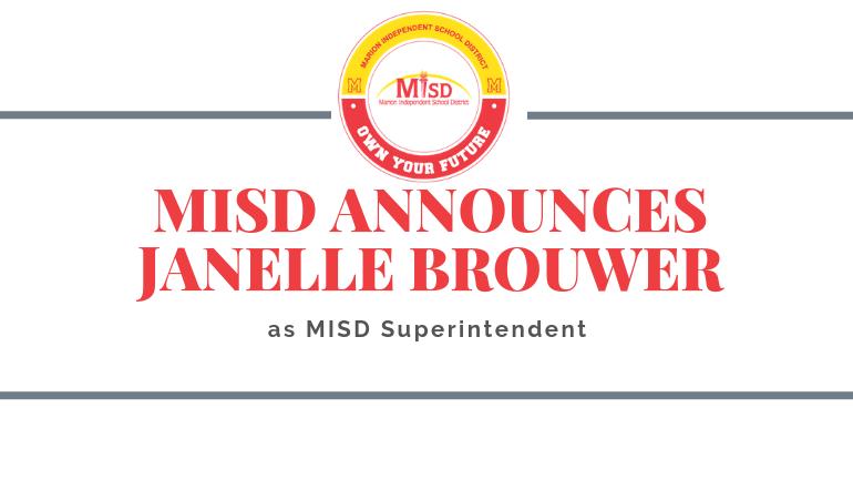 Janelle Brouwer, New Superintendent