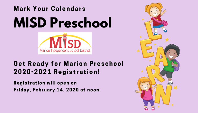 Preschool Registration Information
