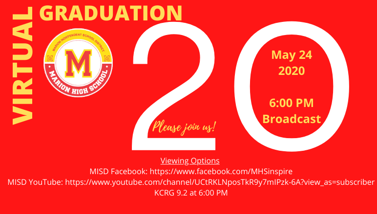2020 MHS Graduation Information