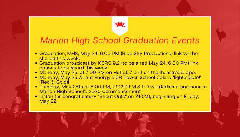 Graduation Information 2020
