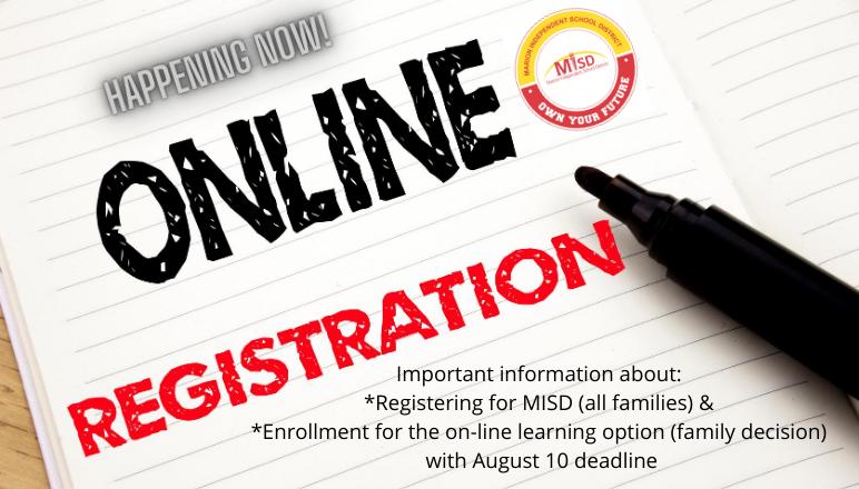 Online Registration 20-21