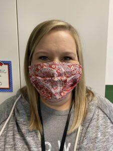 Mrs. Beckner mask