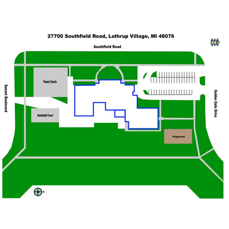 Akiva School, 27700 Southfield Road, Lathrup Village