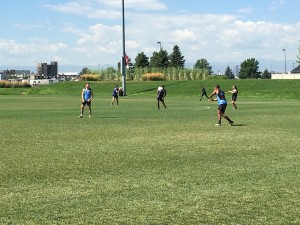Day 1 Set- Warm-up 8 - Site Acclimation - Dicks Sporting Goods Park - NCAA Rugby Championship - Denver, Colorado.JPG