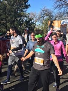 Turkey Trot Finish 1 - Wash Park - Denver, Co