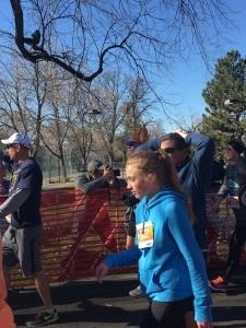 Turkey Trot Finish 4 - Wash Park - Denver, Co