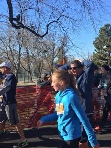 Turkey Trot Finish 6 - Wash Park - Denver, Co