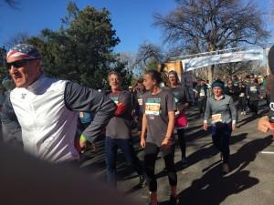 Turkey Trot Finish 7 - Wash Park - Denver, Co