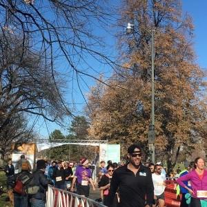 Turkey Trot Finish 8 - Wash Park - Denver, Co