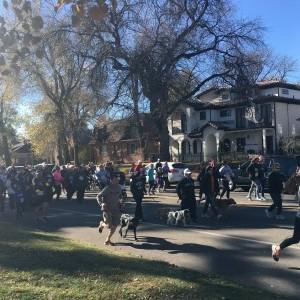 Turkey Trot Start 6 - Wash Park - Denver, Co