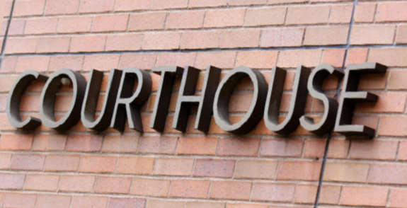Courthouse Sign