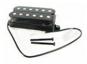 A typical humbucker magnetic pickup