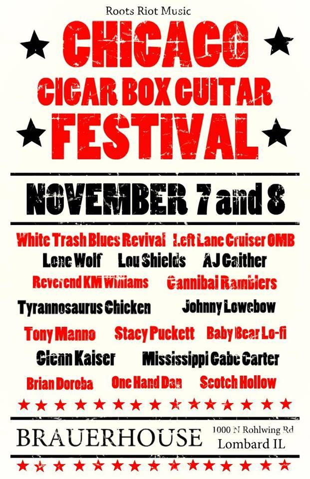 3rd Annual Chicago Cigar Box Guitar Festival