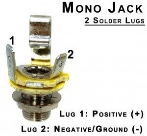 [SCHEMATICS_4HG]  Wiring Mono and Stereo Jacks for Cigar Box Guitars, Amps & More | 1 4 Mono Jack Wiring |  | Cigar Box Guitar
