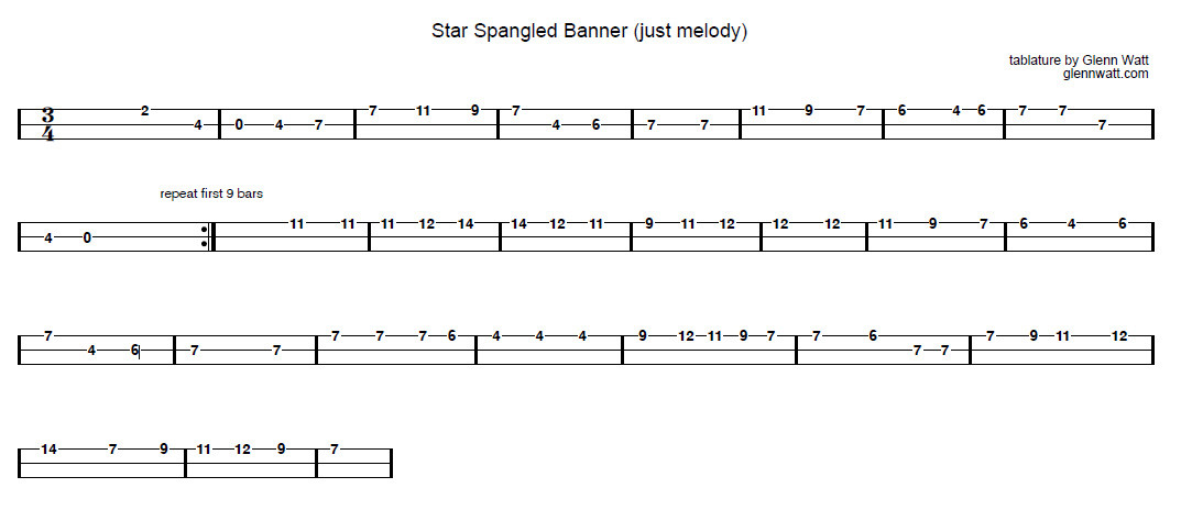 star-spangled-banner-melody-only
